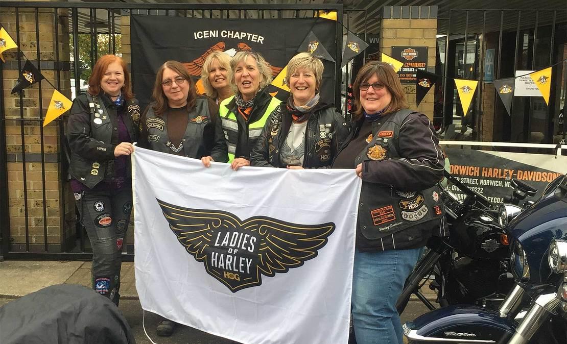 Harley Davidson Ladies Women/'s Face Out Robin Hood Nottingham Dealer Top