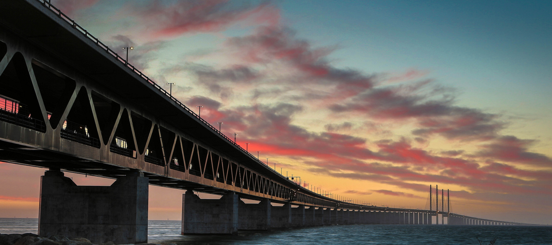 Large oresund bridge